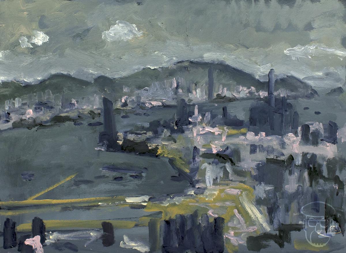 Kai Tak and Kowloon peninsula