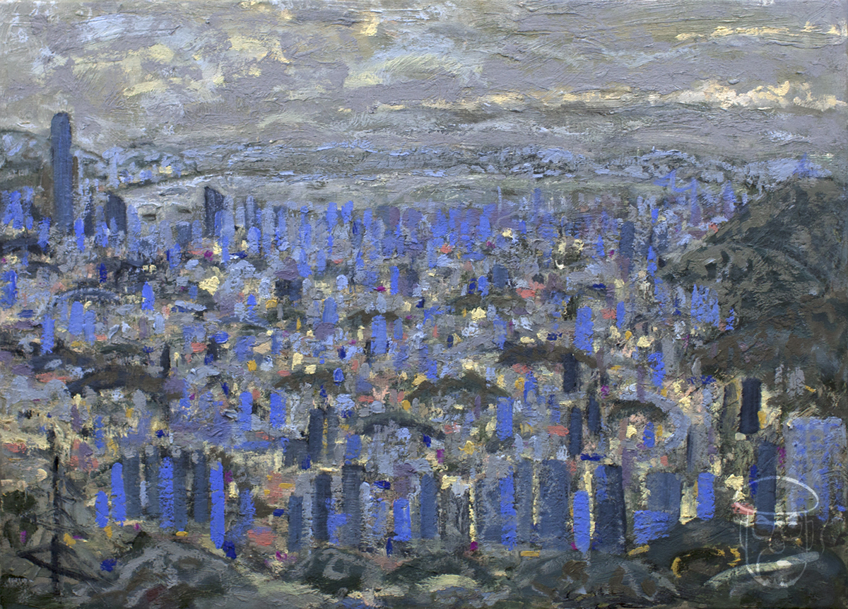 Blue Building Fa Ngo Sian
