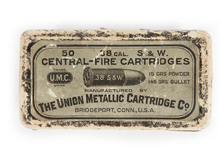 38 S&W union metallic cartridges - MU004