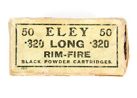 S&W 320 Eley Long rim fire - MU011