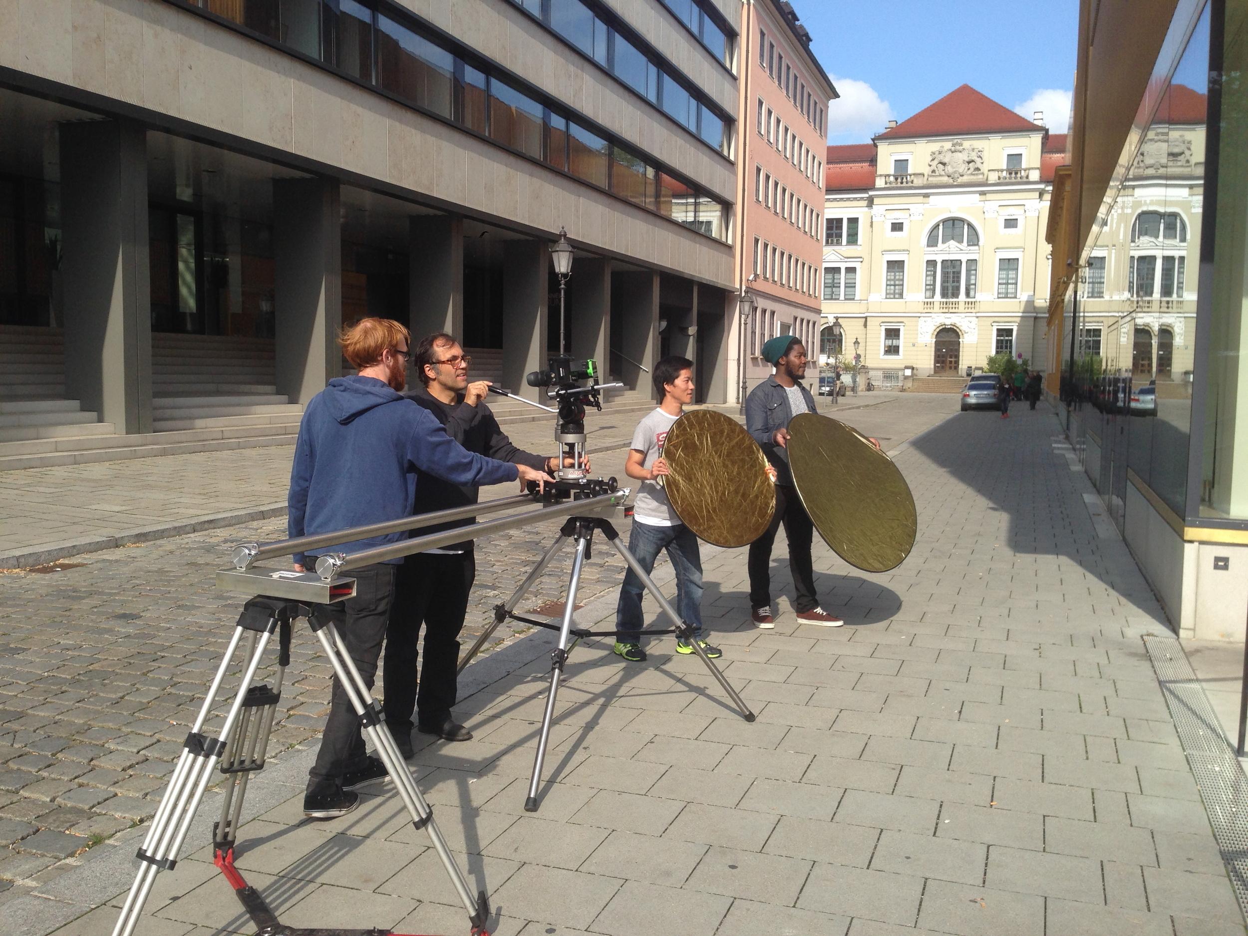 Dreh in München
