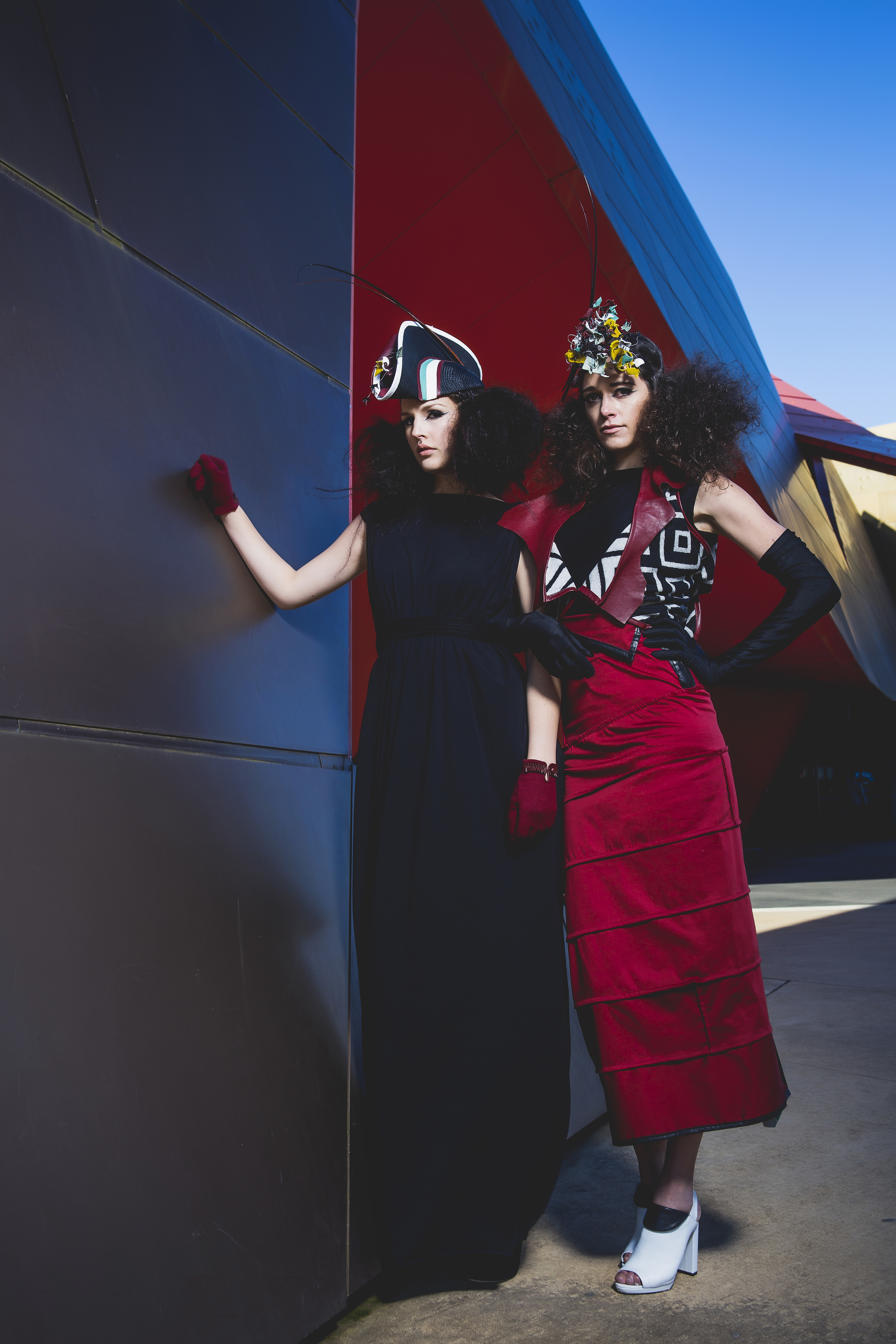 Photographer: Red Photogaphy Makeup: Belle Artistry Models: Nicole Luker, Rachelle Dawson (Haus Models)