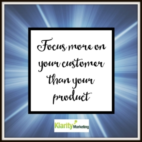 Image for Focus on your customer.jpg