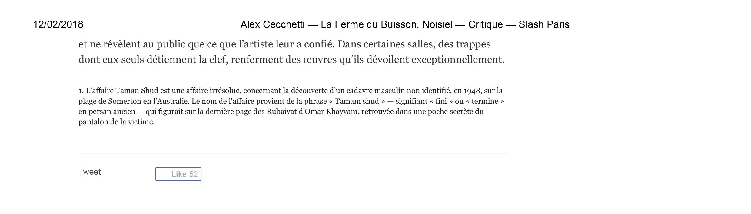 Alex Cecchetti—La Ferme du Buisson, Noisiel — Critique — Slash Paris-3.jpg