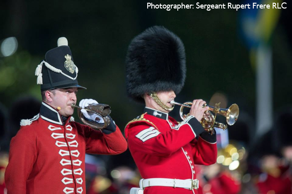 Waterloo_Bugle_2015_Beating_Retreat