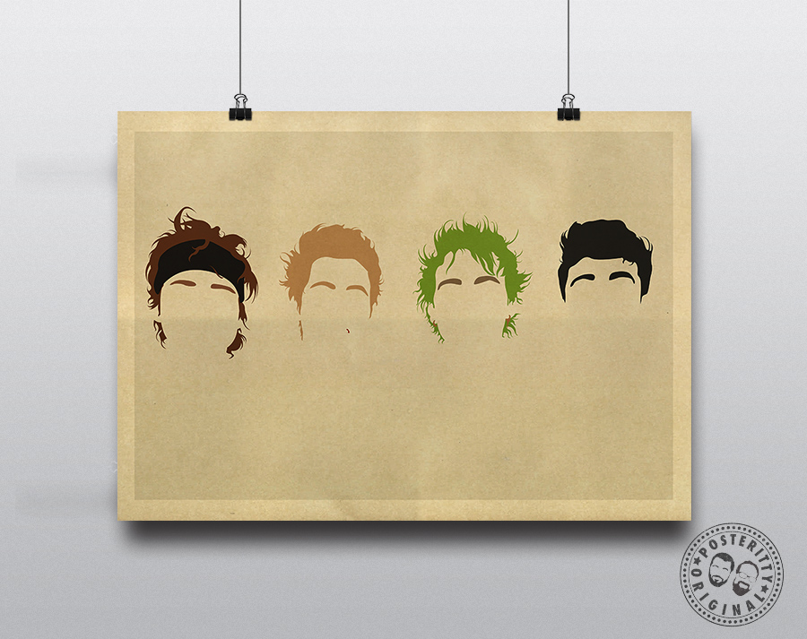 5SOS Poster Posteritty Minimalist Competition