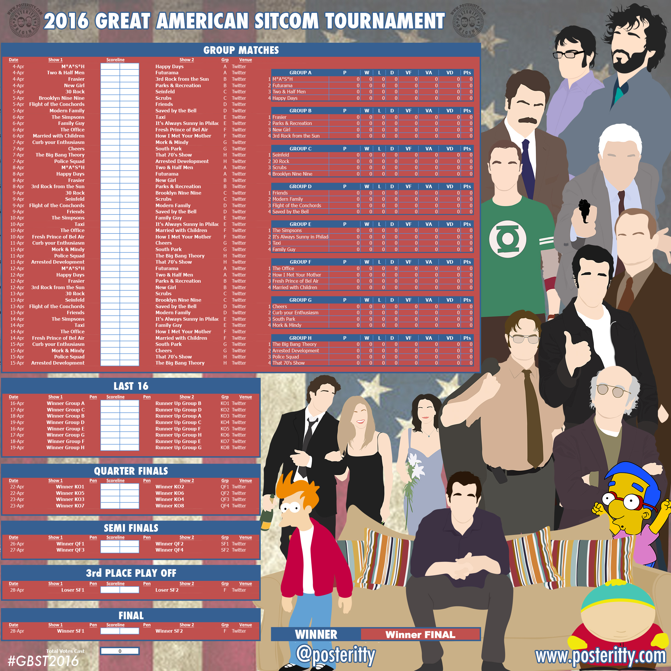 Posteritty_Tournament_Sitcom_Tournament