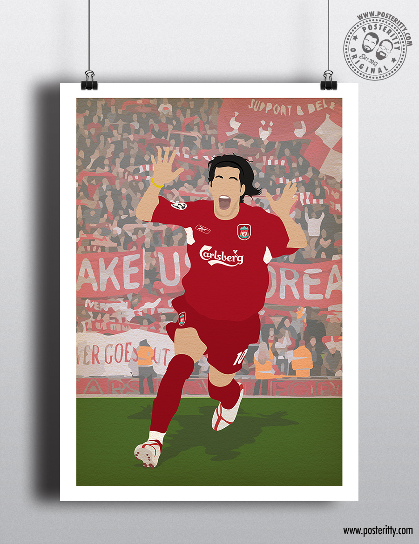 Celebration Minimalist Liverpool FC Football Poster Minimal KENNY DALGLISH