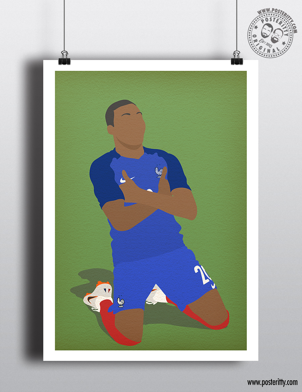 - Minimalist England Football Poster EURO 96 Minimal Posteritty Stuart Pearce