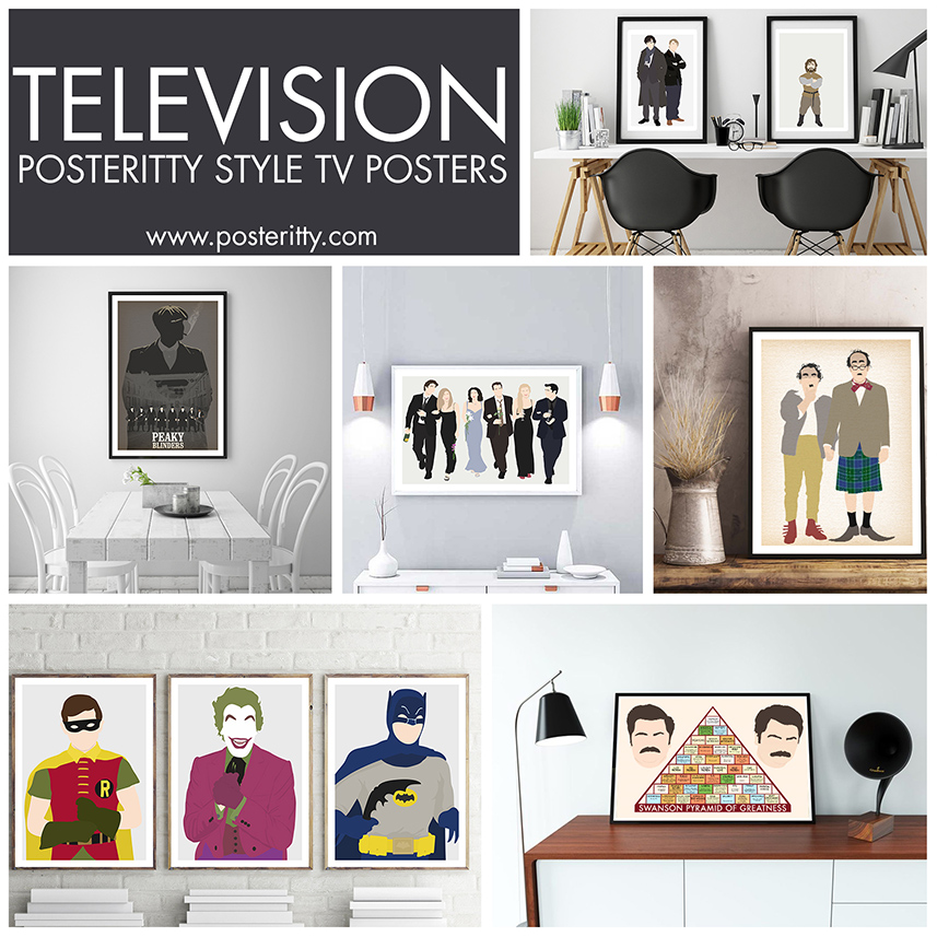 MINIMALIST TELEVISION POSTERS -