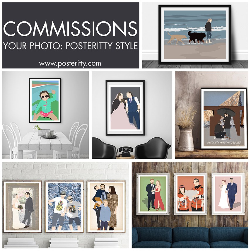 YOUR PHOTOS IN THE POSTERITTY STYLE -