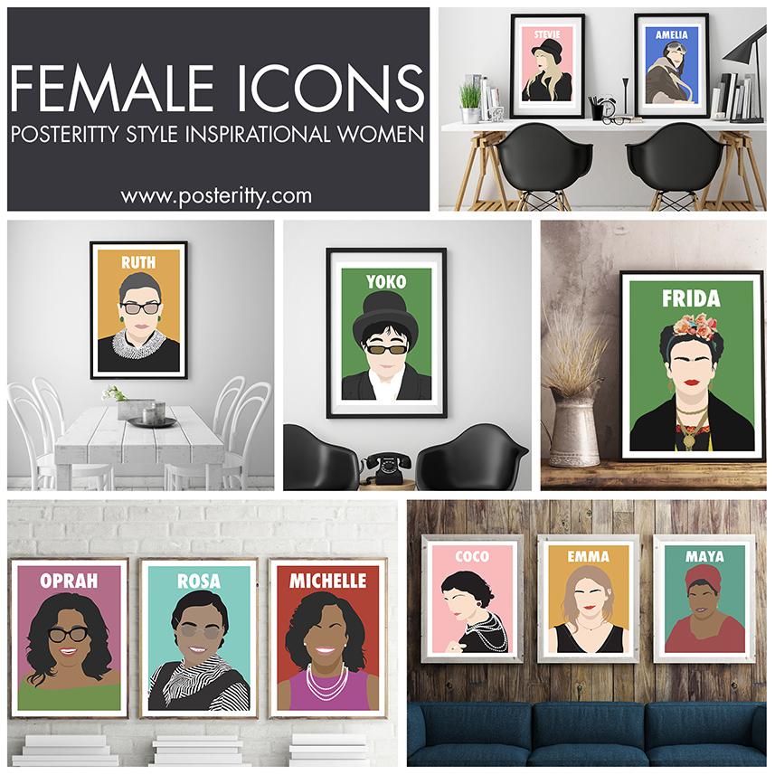 POSTERITTY STYLE INSPIRATIONAL WOMEN -