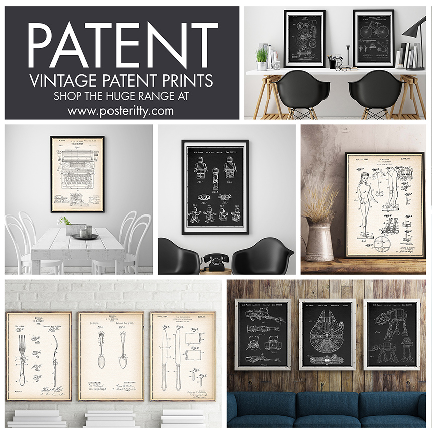 REPRODUCED PATENT POSTERS -