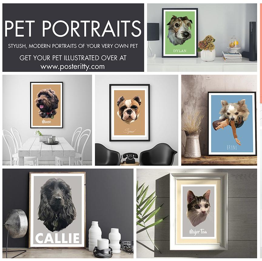 PET PORTRAITS -