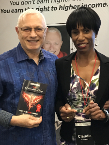 Claudia's Book Launch with Raymond Aaron