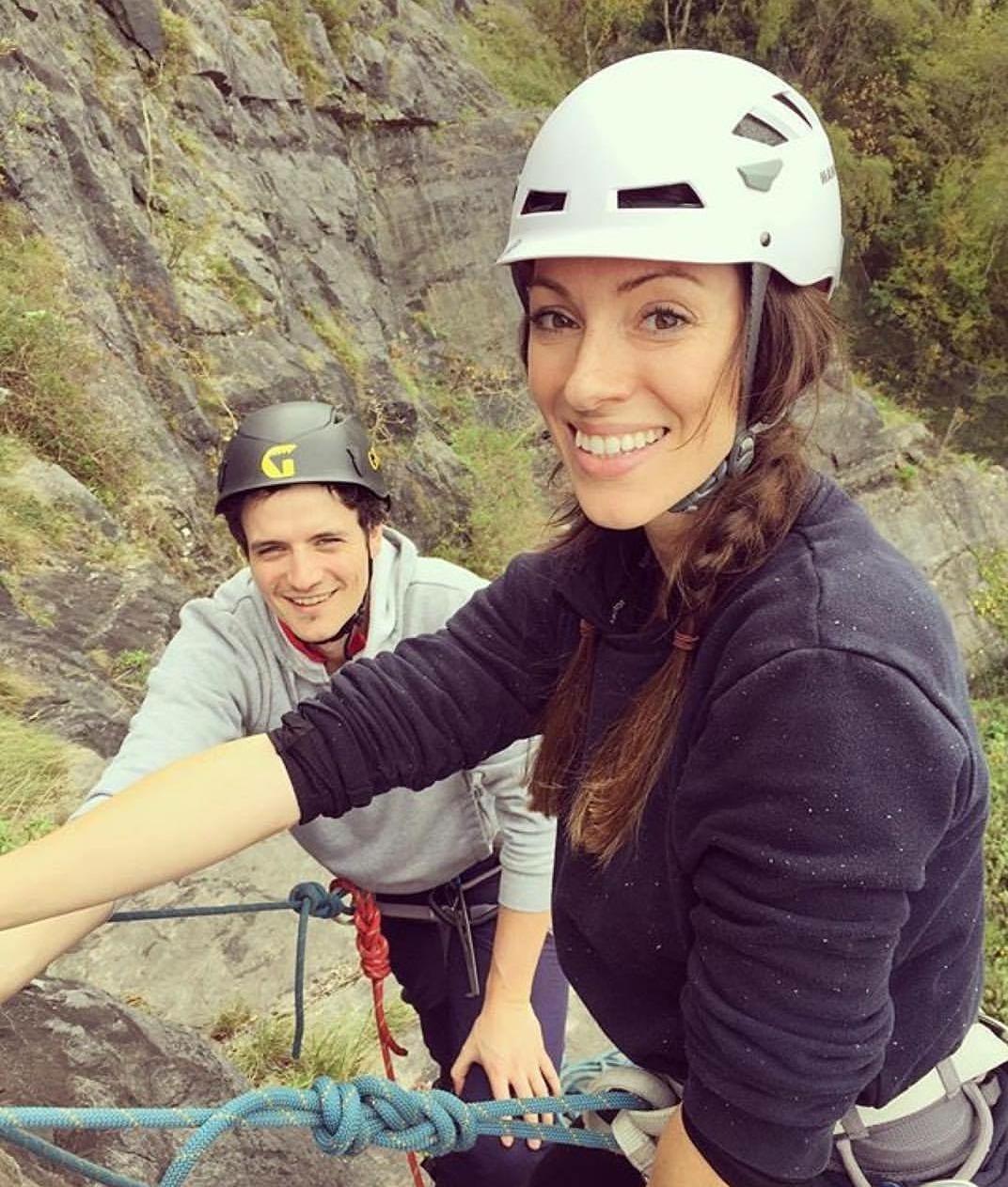 Climbing in the Avon Gorge, Bristol.