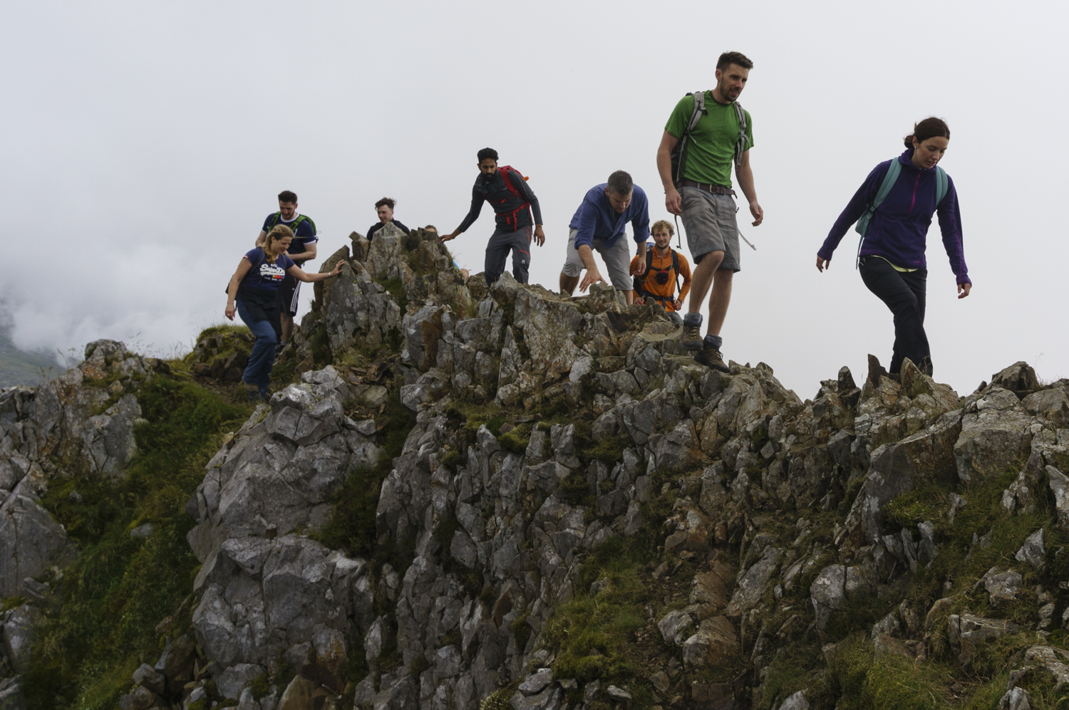 Mountain Scrambling   See more of the mountains   Learn More