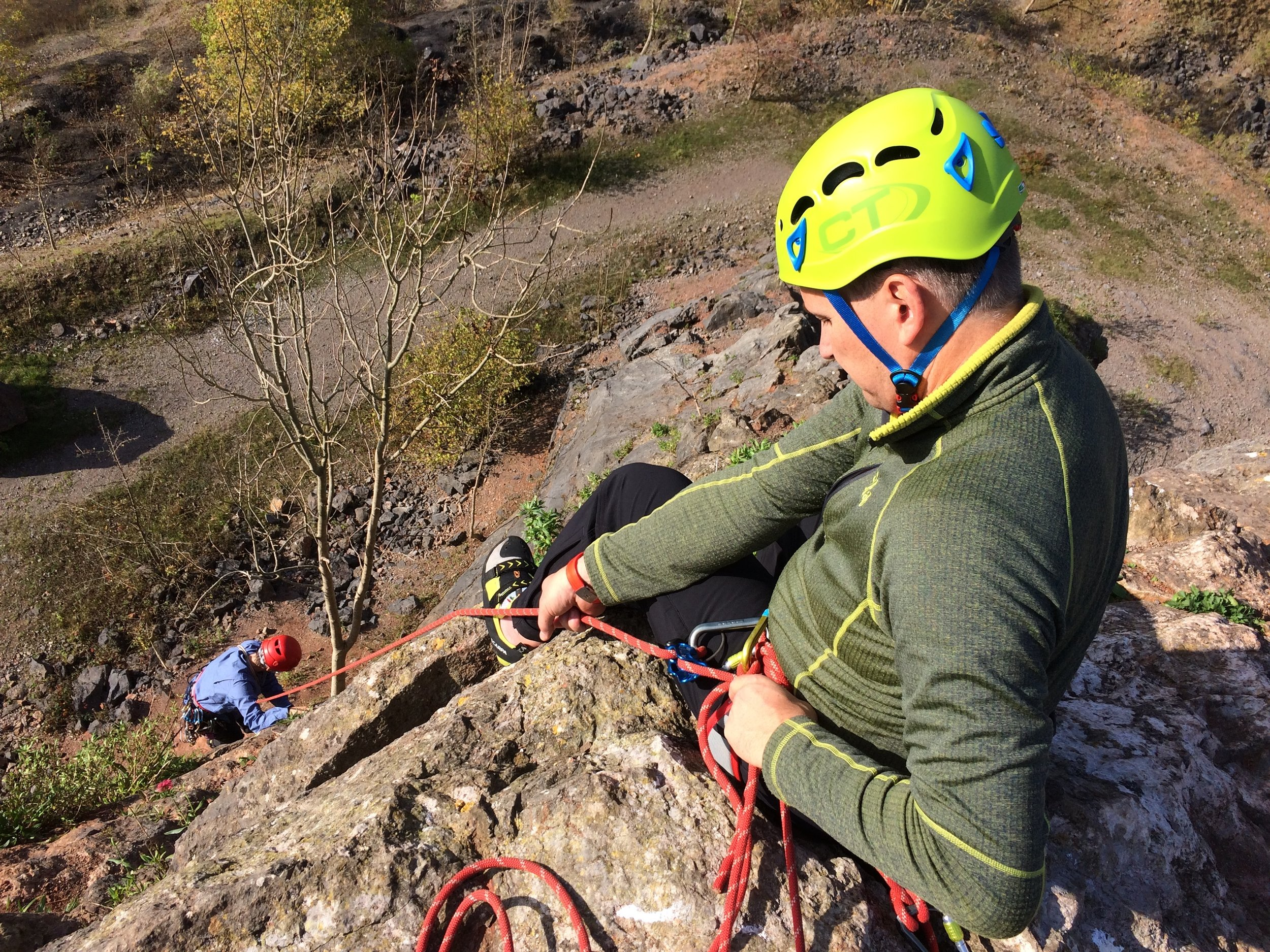 Bespoke Climbing Instruction    Learn More