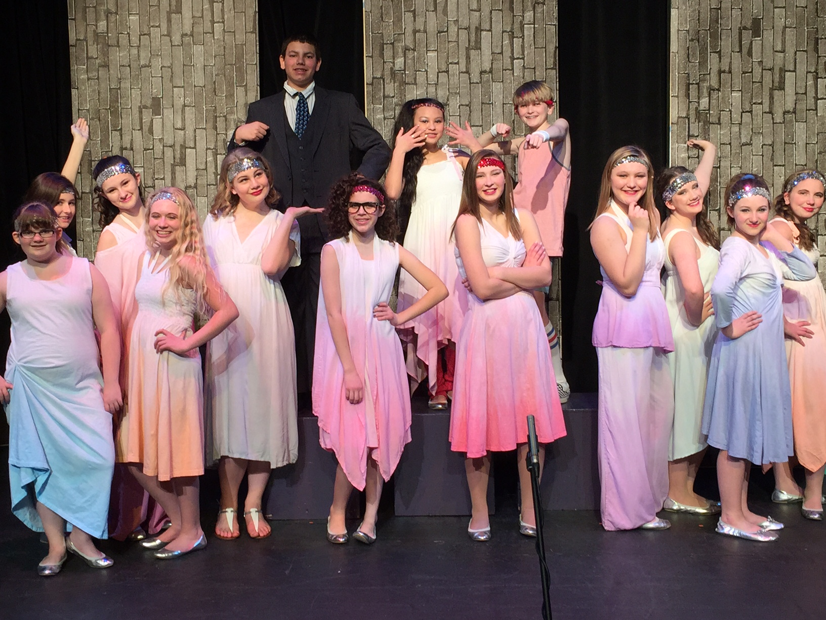 "The Cast of ""Xanadu Jr."" 2015"