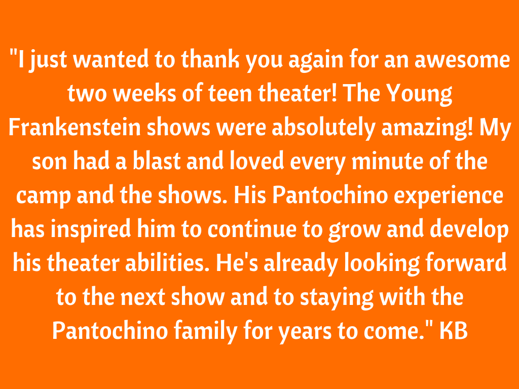 Pantochino delivers fantastic summer camp sessions filled with fun, creativity and more fun! The very talented Pantochino Team is comprised of professionals who blend imaginative improv games with engaging rehearsals.png