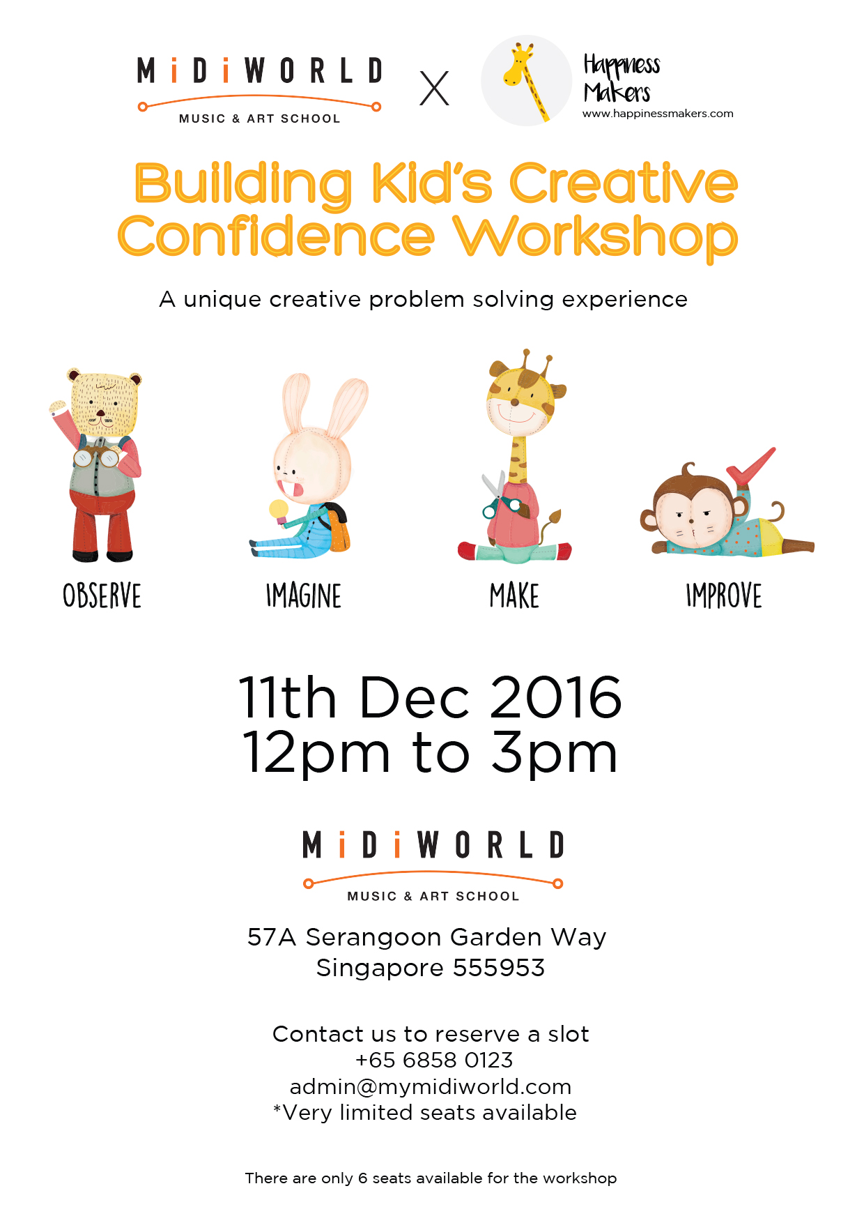December School Holiday Workshop