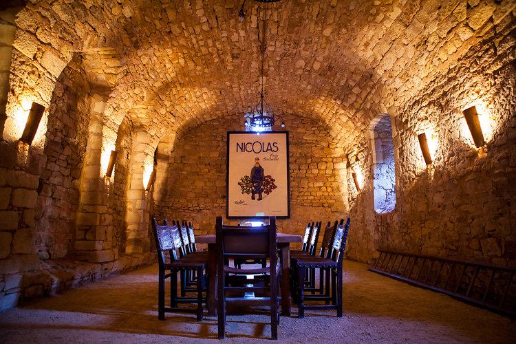 Chateau dining area