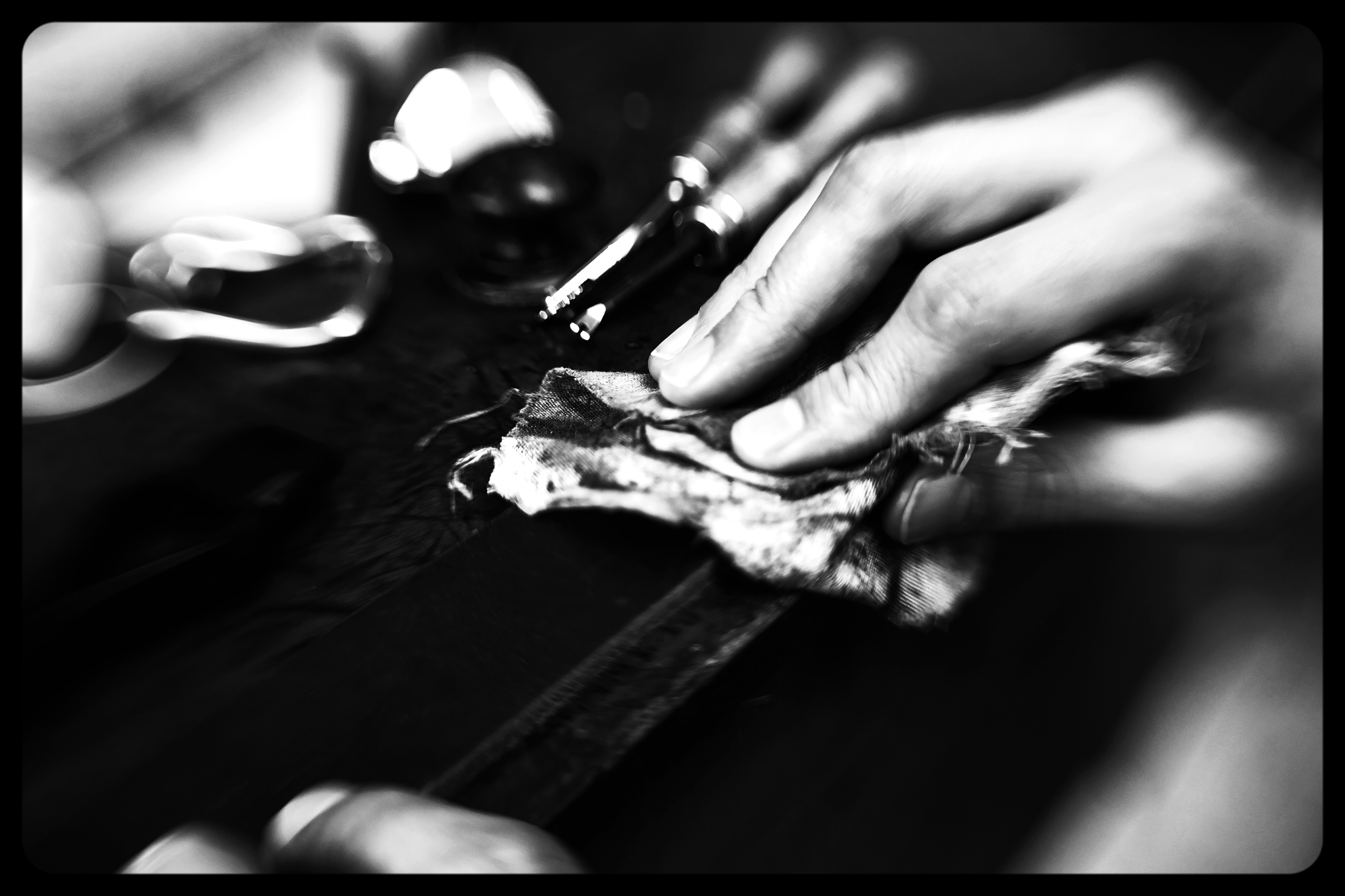 Each of our belts are individually crafted by Master Saddlers