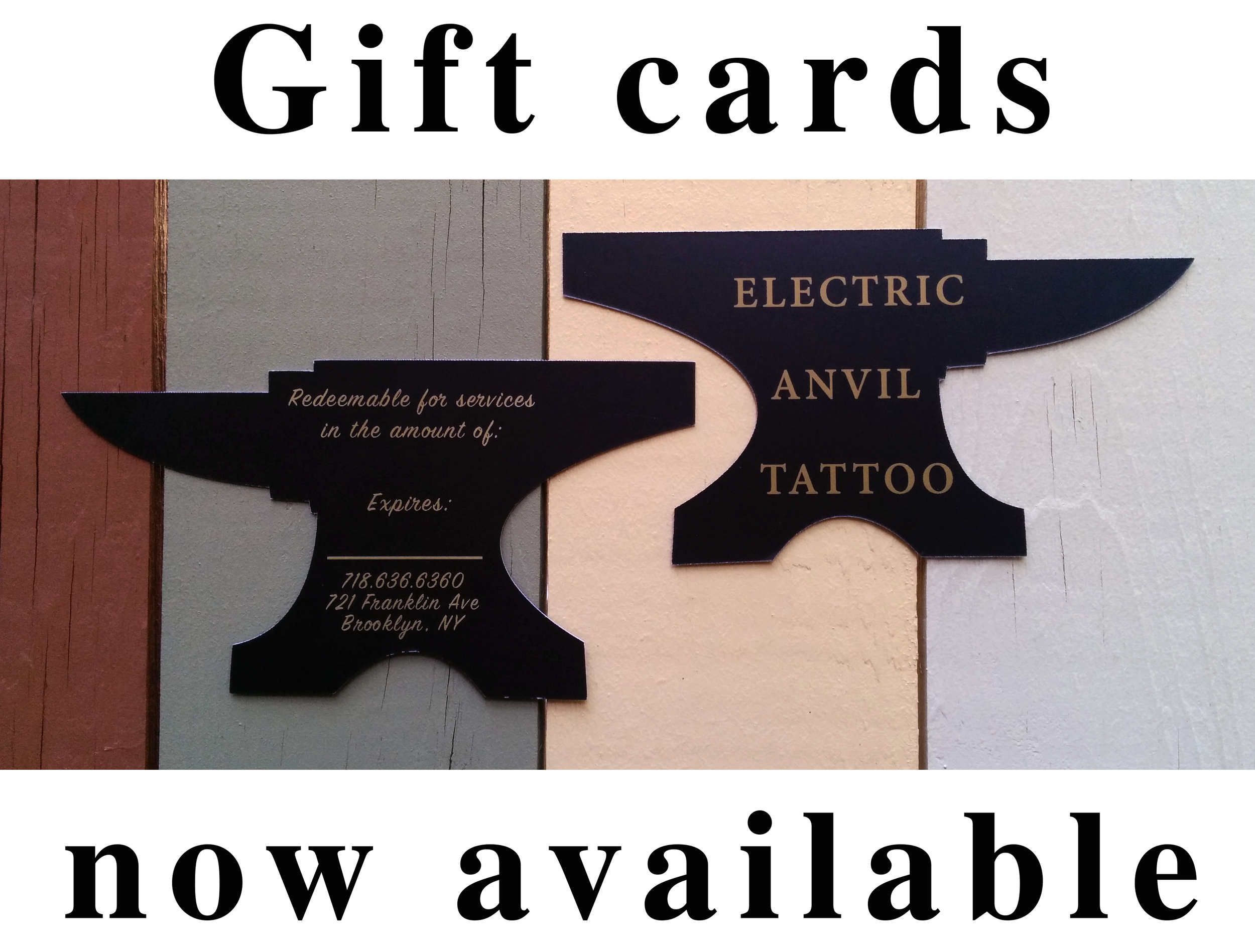 Gift Ideas Blog Electric Anvil Tattoo