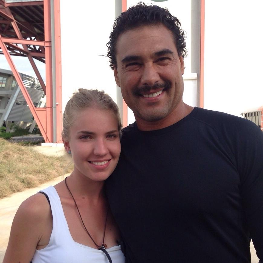 Filming With Eduardo Yáñez