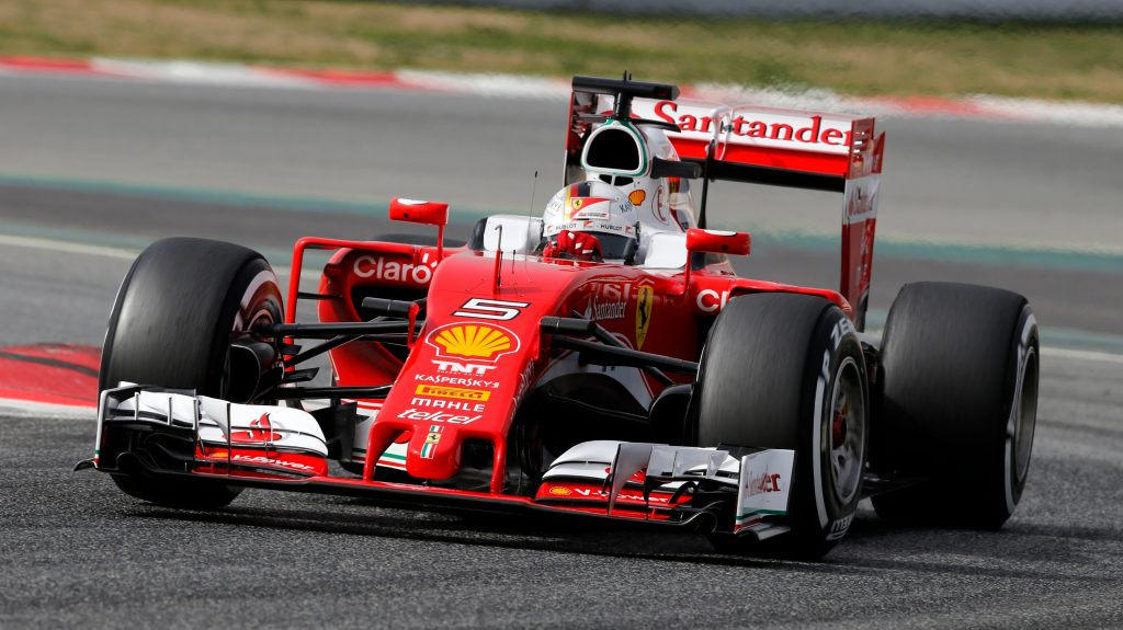 Sebastian Vettel and Kimi Raikkonen are ready to take the fight to Mercedes AMG Petronas' team of Nico Rosberg and Lewis Hamilton