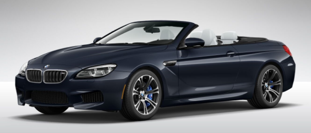 The 2017 BMW 650i Convertible