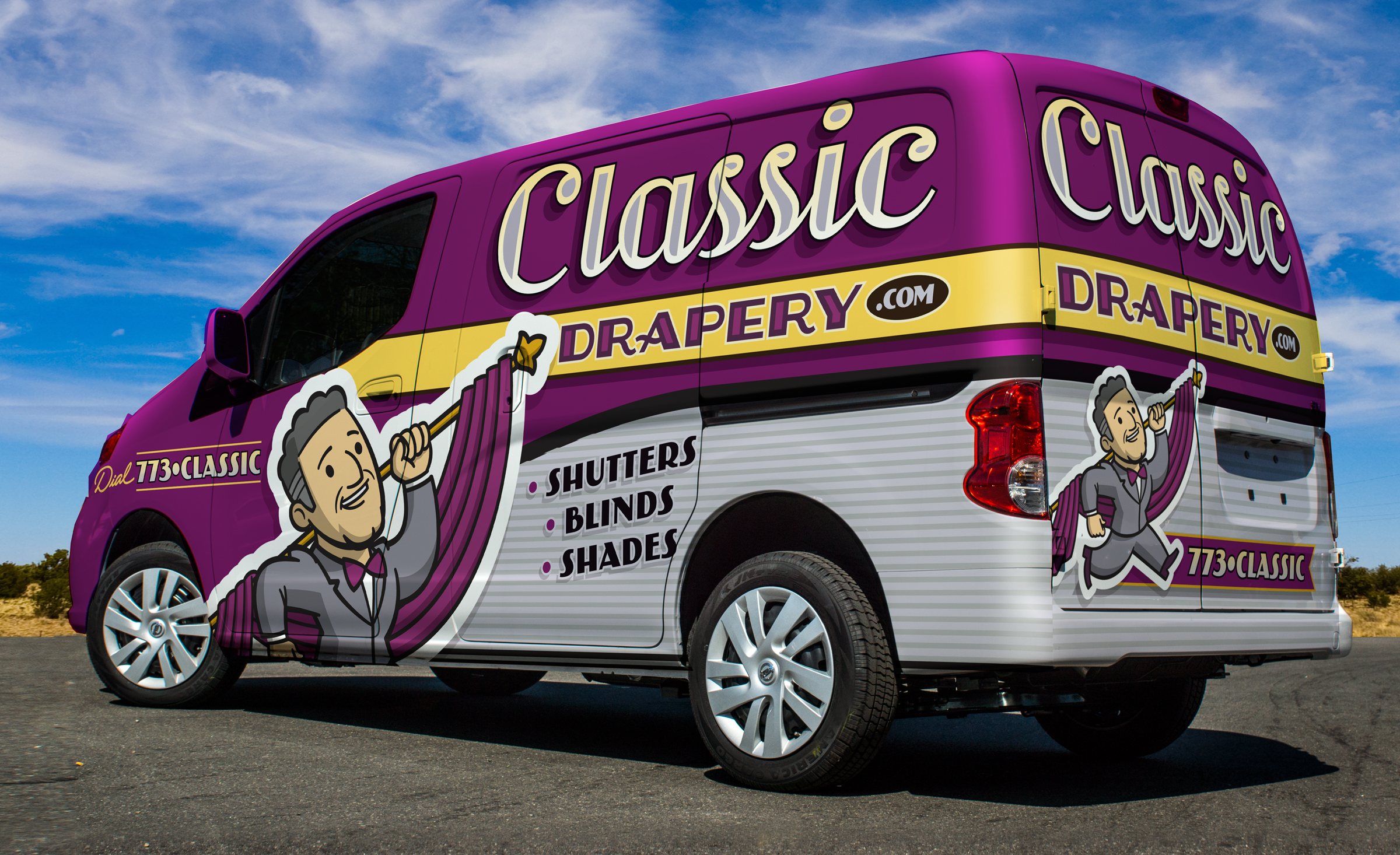 Have your vehicle wrapped and ready for customers to see.