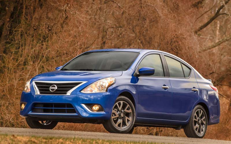 02.Nissan Versa.  Car Leasing Concierge.