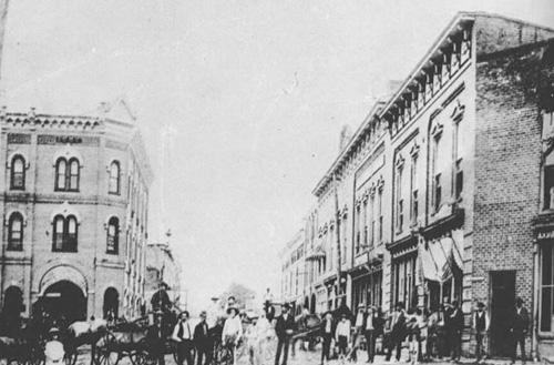 main street 1890