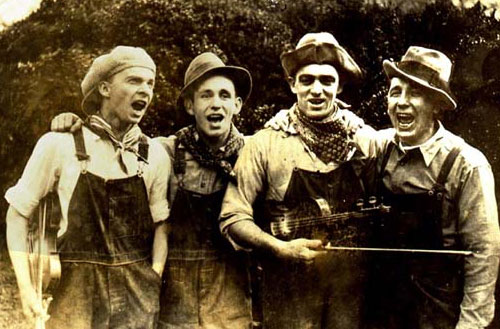"Charlie Bowman and ""The Hillbillies"""