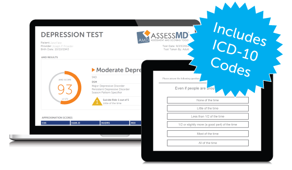 AssessMD Test and Results