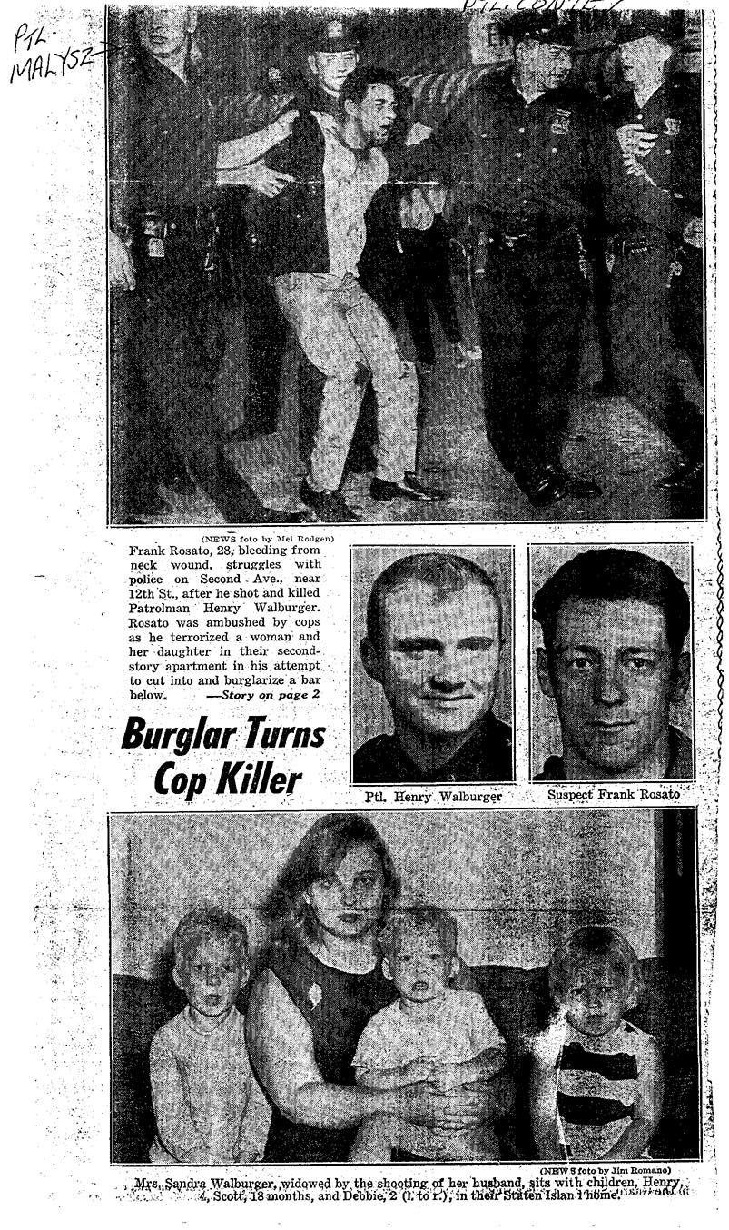 The article written when Henry's killer was finally caught.