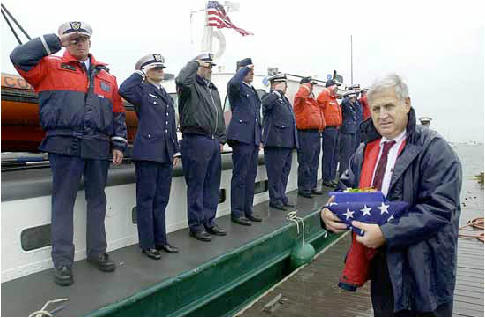 The Funeral for One of Launch 5's Deceased Crew Members, Hope Becker