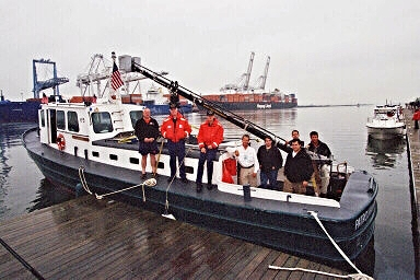 Launch 5 Crew and Camera Crew