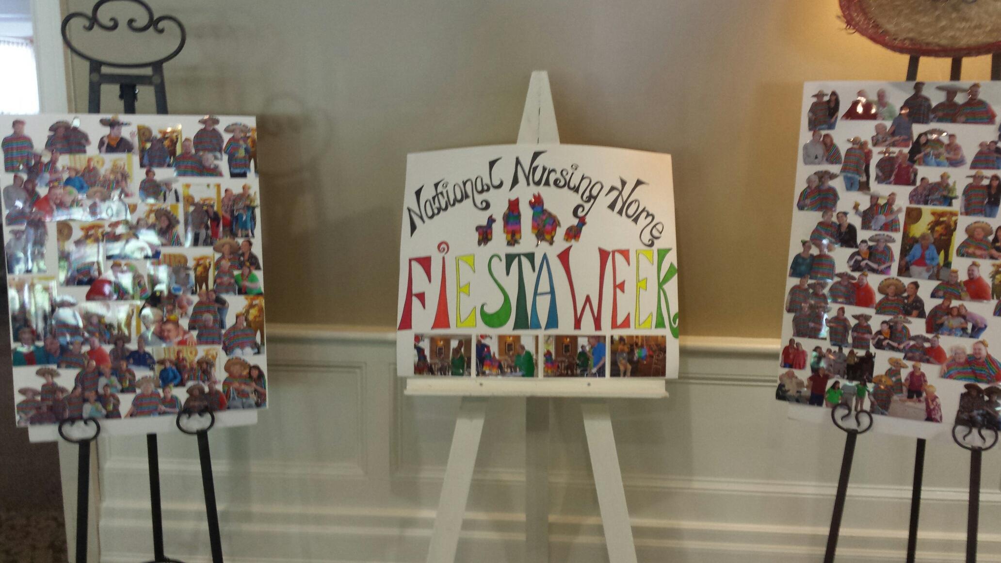 Edgewood Manor celebrates Fiesta Week!