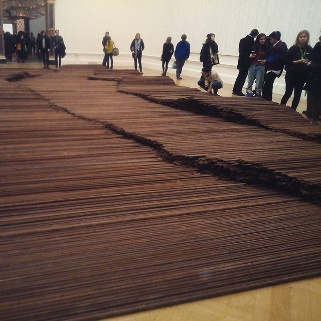 Last day of an amazing exhibition  #RA #aiweiwei