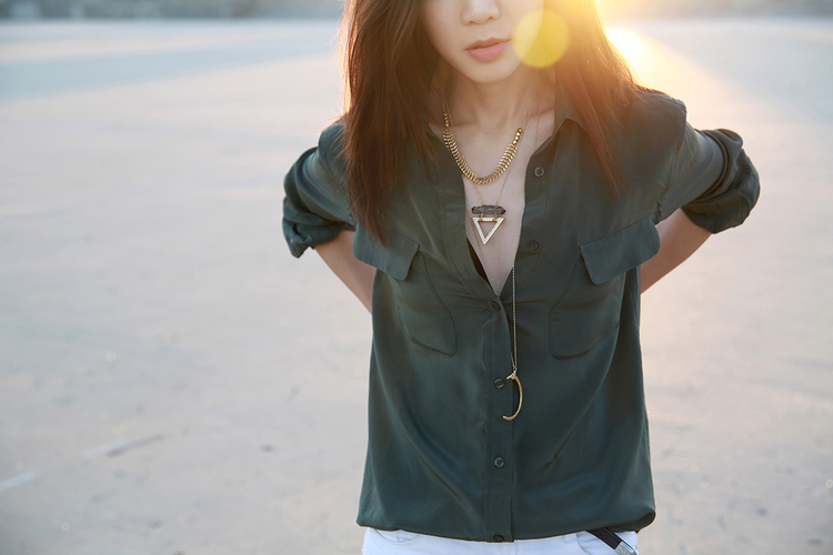 July 1st feature LA Blogger Elsa Long for  Wander Uptown  photographed by @Knot