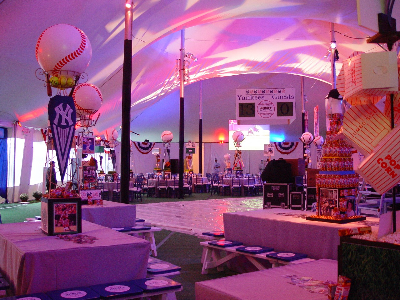 Sports Theme Gallery — Eggsotic Events | Contemporary Event Decor