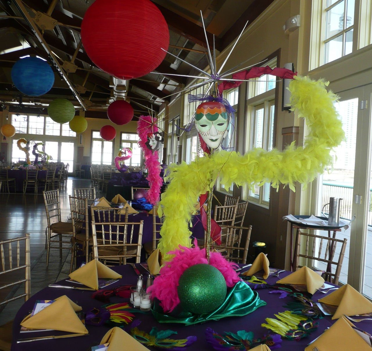 Eggsotic Events Masquerade Theme Decor and Lighting 05.jpg