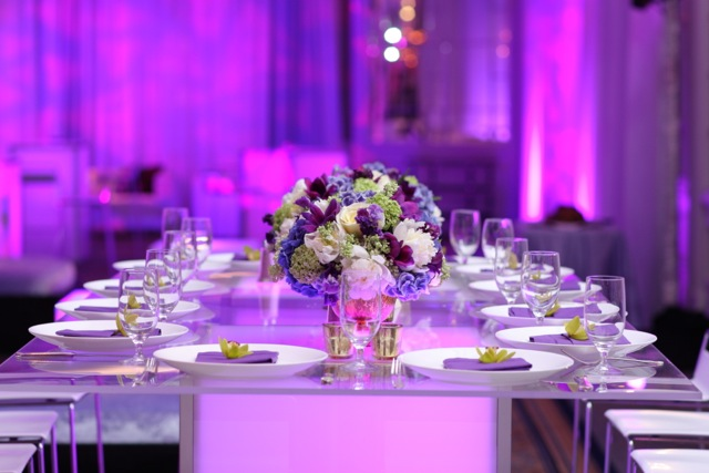 led furniture acrylic table rental nj bar party event decor