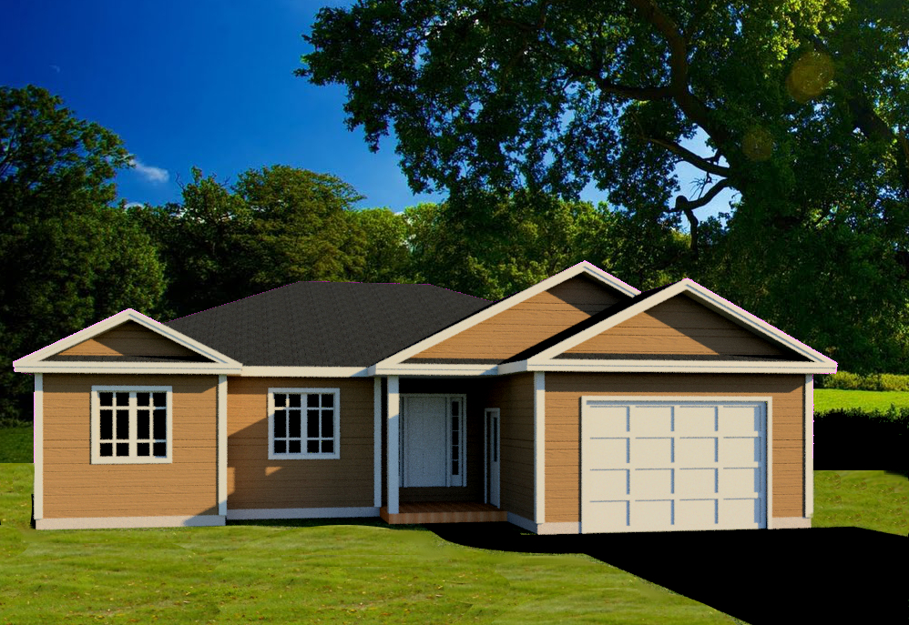 2 BEDROOMS  •  2 BATHROOMS  •  SINGLE GARAGE  •  1853 SQ FT