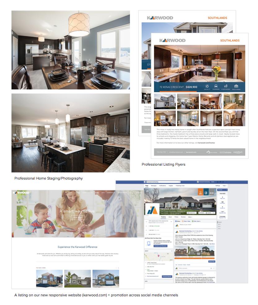 A snapshot of Karwood's Real Estate Marketing Services