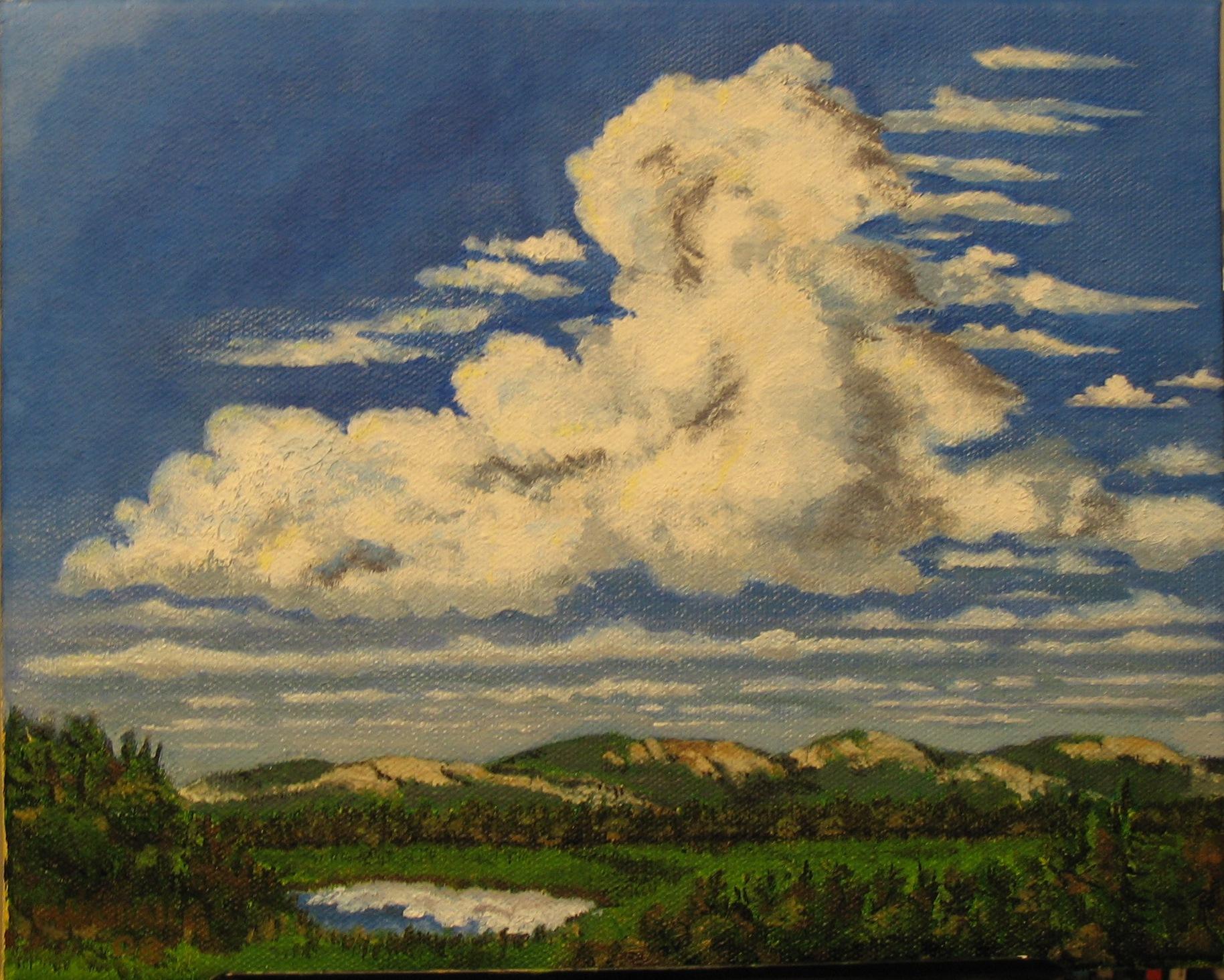 Clouds Over Mt Desert Island