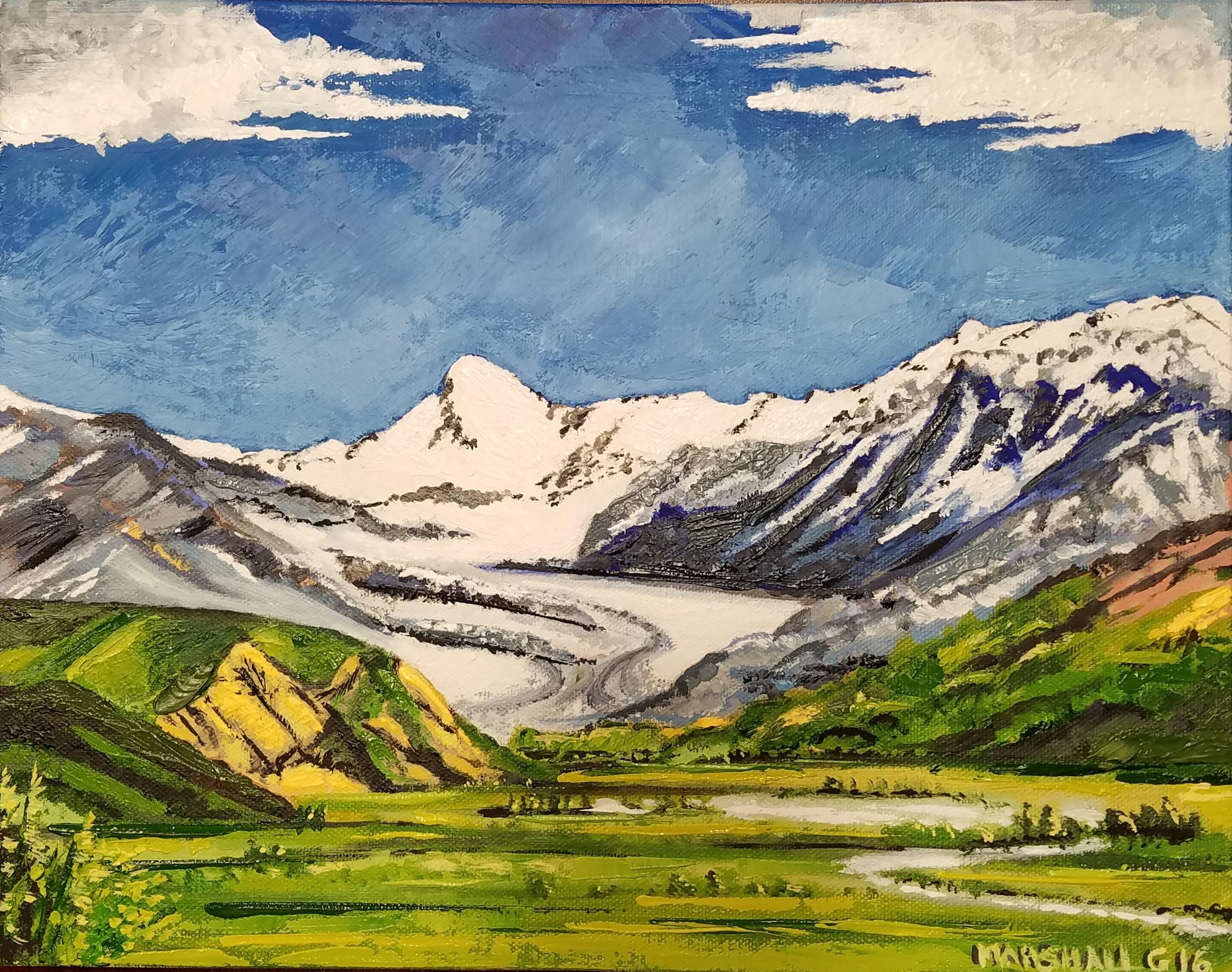 Alaskan Glacier - SOLD