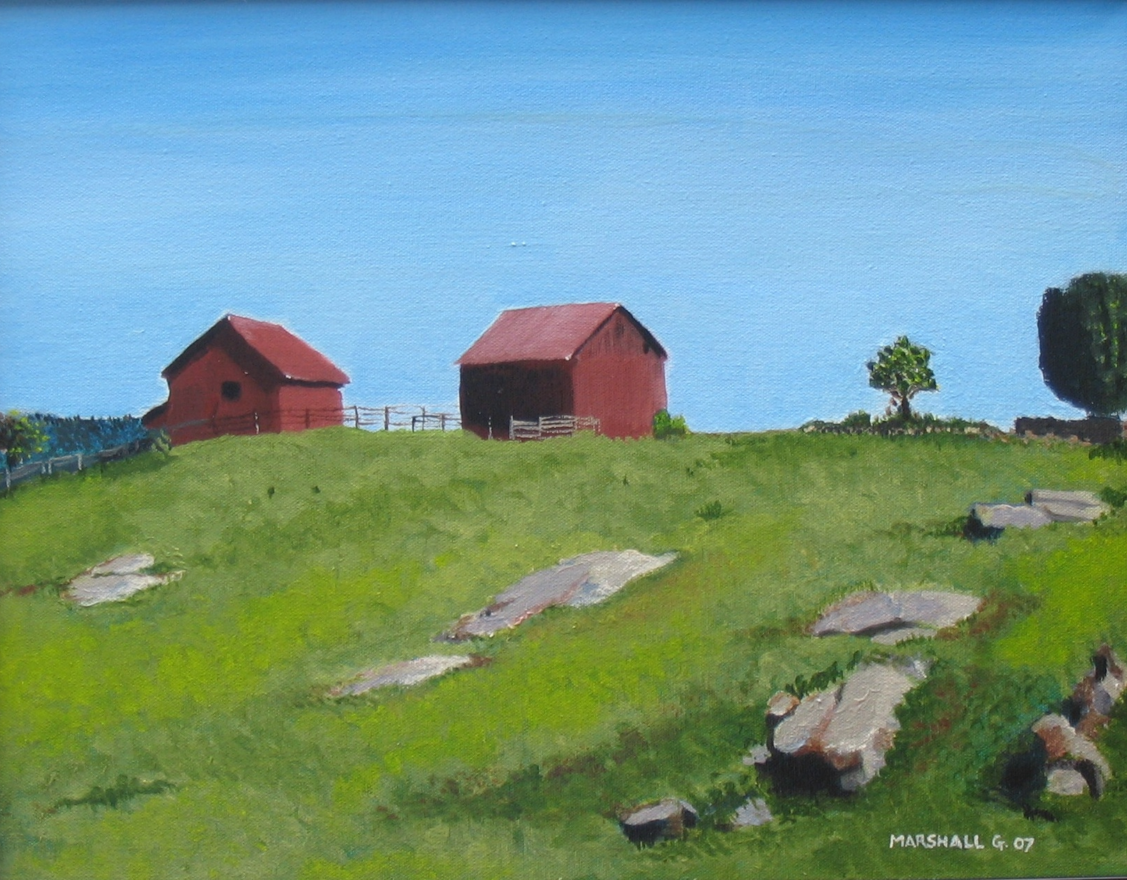 Red Barns - SOLD